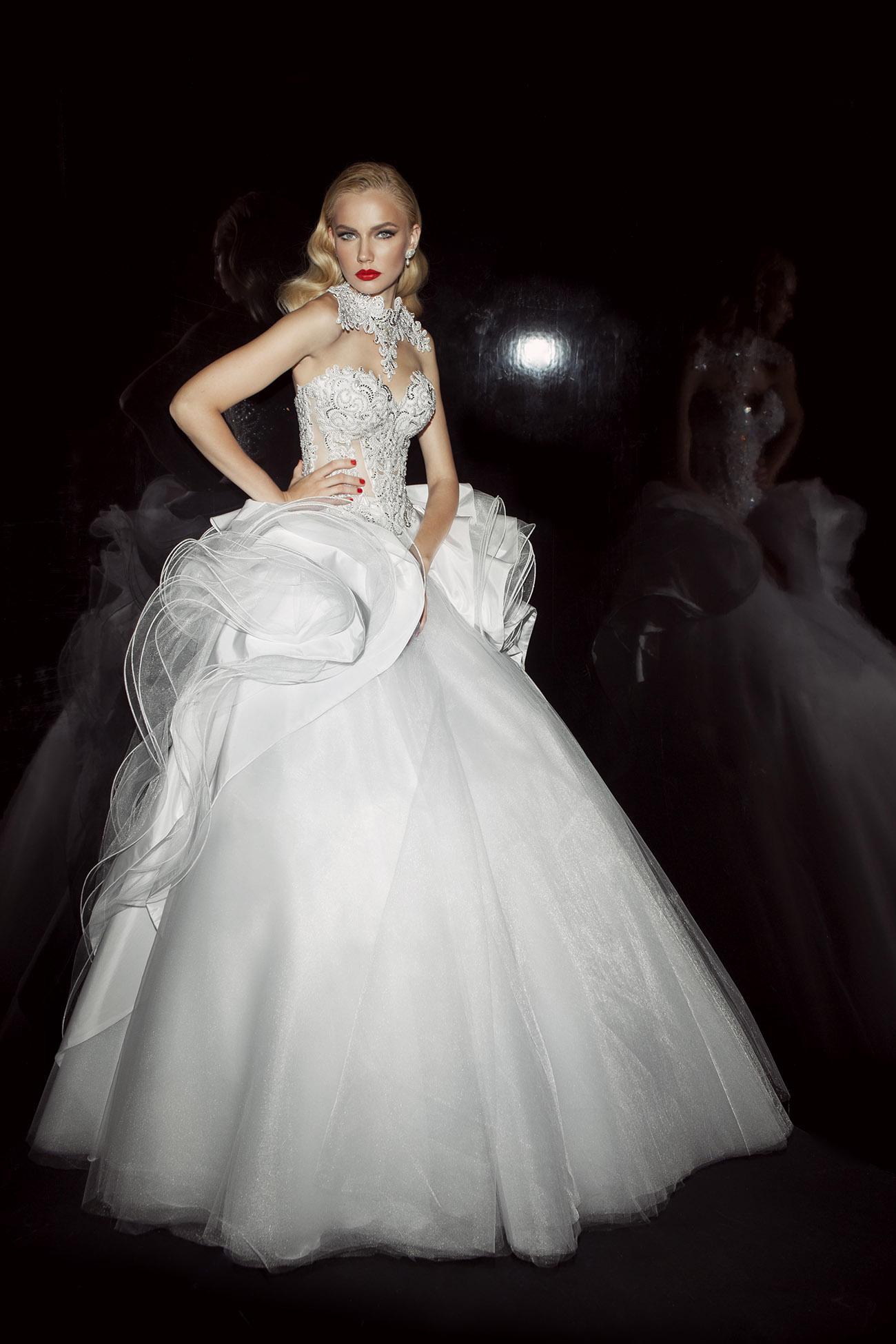 מתקדם שמלות כלה למכירה - עובד כהן AX-03