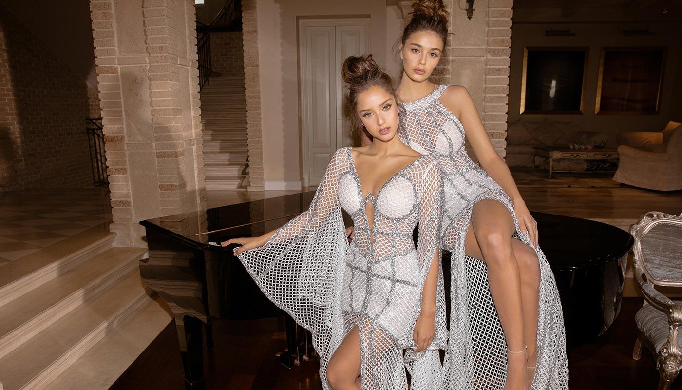 נטע אלחמיסטר בקולקציית שמלות ערב