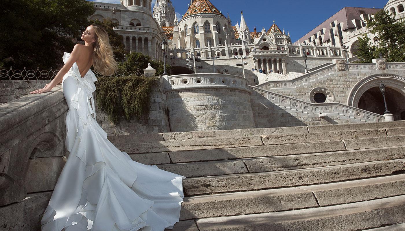 קסניה טרנטול בשמלת כלה